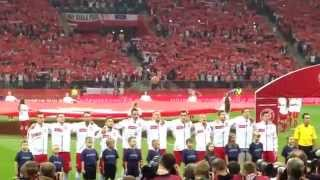 Polska - Niemcy 2:0 - Hymn Niemiec, hymn Polski
