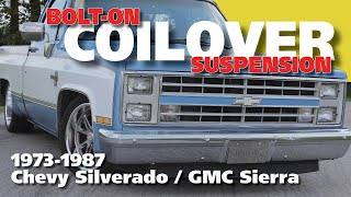 73-87 C10 Coilover Suspension Install -- Full