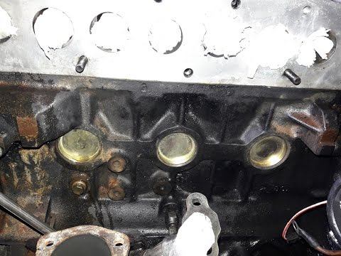 Land Rover 300 Tdi Engine Core Plug Replacement Youtube