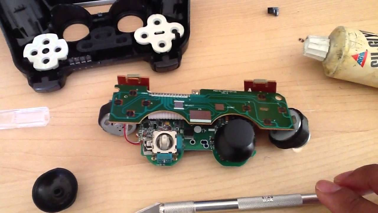 How to really fix faulty ps3 controller left analog stick