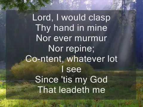 Christ In Song hymn no. 33   He Leadeth Me Hymnal MV