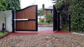Automatic Gates (steel Frame Timber Clad)