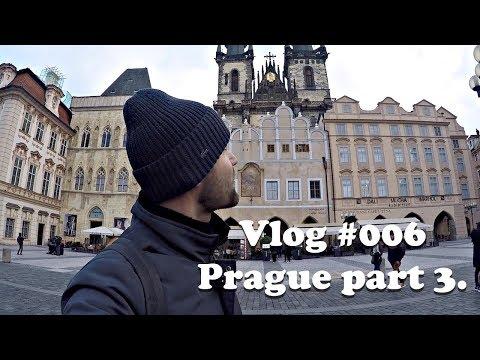 Влог #006. Прага 2017 часть 3. Симка для интернета. Улицы и Достопримечательности Праги.