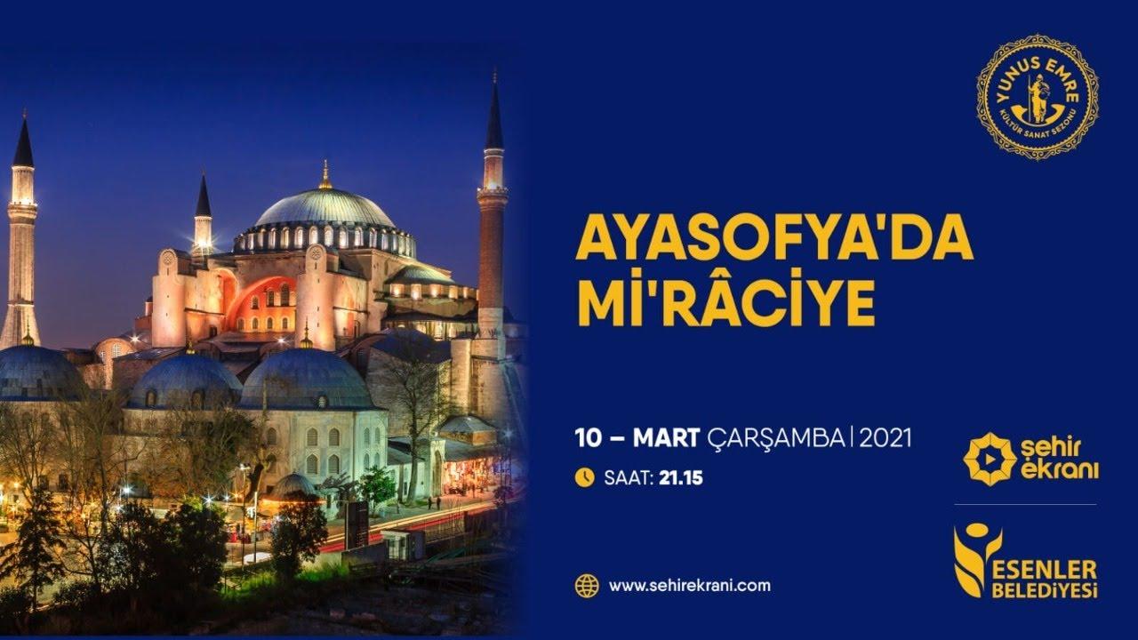 İmam Hatipli hafızlar Ayasofya Camii'nde icazetlerini aldılar
