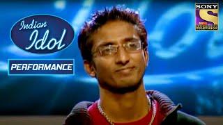 Amit ने दिया पे Rocking Performance   Indian Idol Season 1