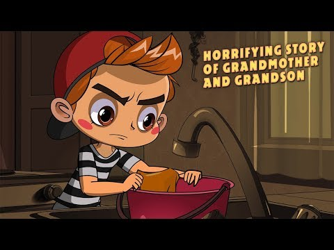 Masha's Spooky Stories - Horrifying Story of Grandmother And Grandson 👻