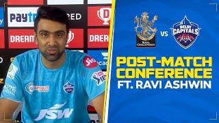 Post Match Press Conference | R Ashwin | #RCBvDC