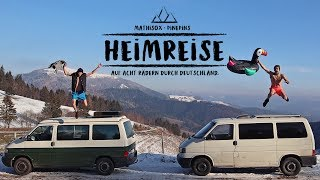 HEIMREISE - der erste deutsche Vanlife Film - the first german vanlife movie