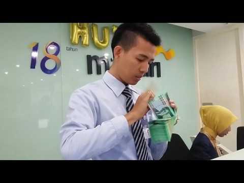 Hitung Cepat Teller Bank Mandiri KCP Pasir Pengaraian