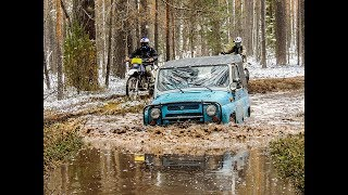 Грязное открытие сезона. Часть 2. Motoland XR 250.