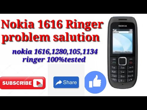 Nokia 1616 ringer problem with ic jumper