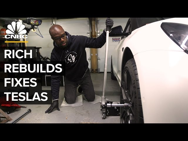 Why Rich Rebuilds Is Opening A Tesla Repair Shop