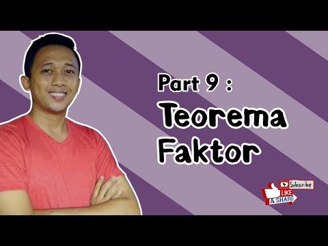 Teorema Faktor Polinomial #fazanugas
