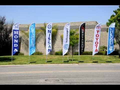 On Sale! WE FINANCE Car Dealer Lot Swooper Banner Feather Flag