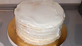 Молочная девочка торт самый простой понятный рецепт
