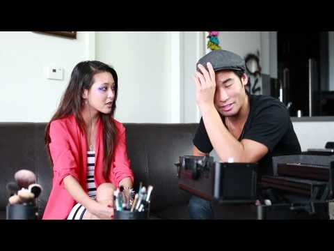 Behind The Scenes: Victor Kim Does My Makeup!