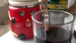 Вино из черноплодной рябины.