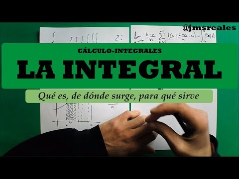 La integral: qué es, de dónde surge y para qué sirve