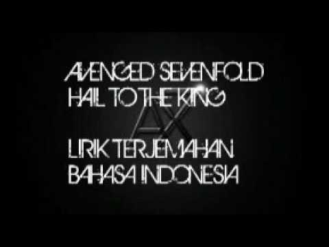 Avenged Sevenfold Hail To The King Lirik Terjemahan Bahasa Indonesia