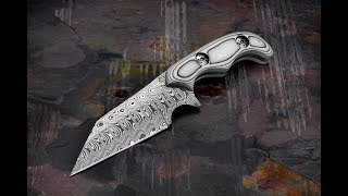 Skelton Bladeworks Advanced Tibia Damasteel