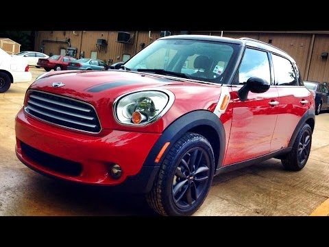 2014 Mini Cooper Countryman Full Review, Start Up, Exhaust - YouTube