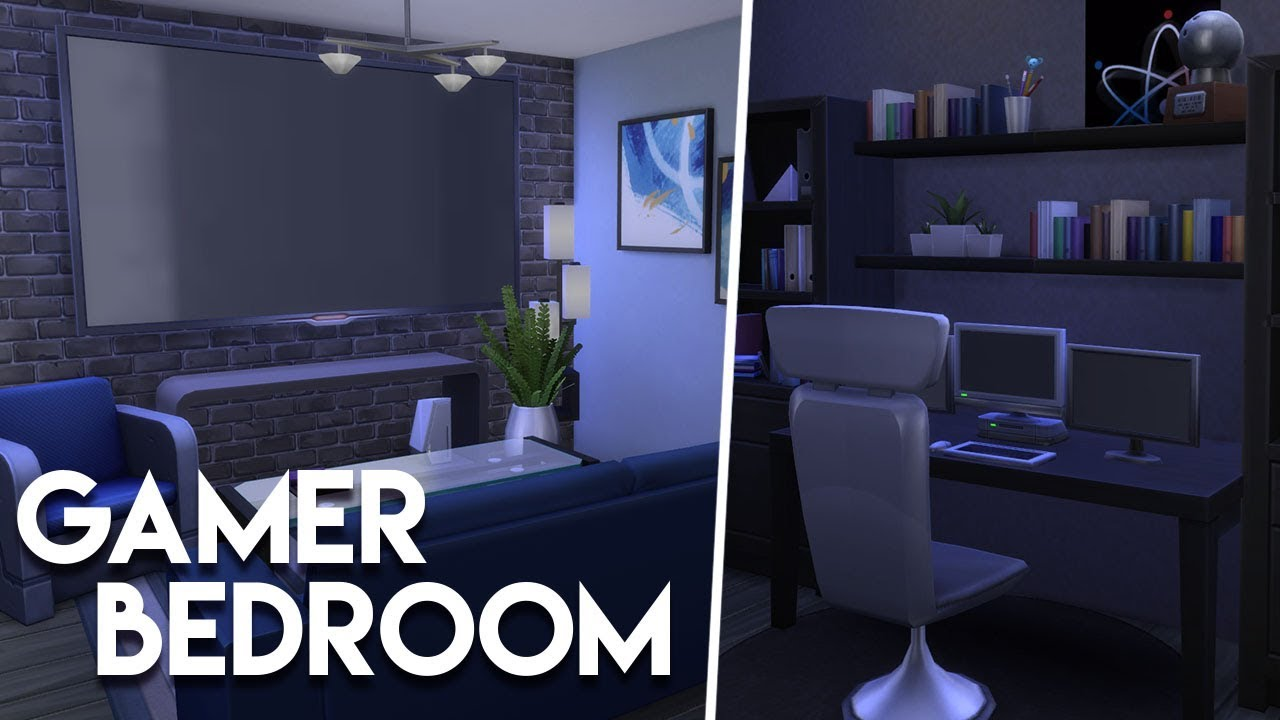 Ultimate Gamer Bedroom The Sims 4 Room Build Youtube