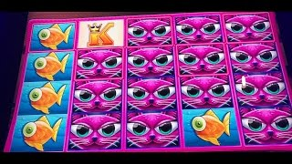 Miss Kitty Gold Slot Machine Bonus- with Rex