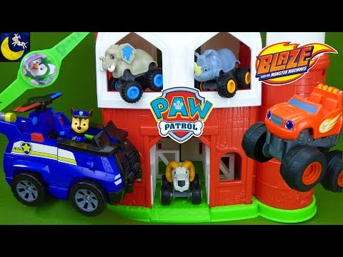 Paw Patrol Toys Rescue Blaze and the Monster Machine Missing Farm Animals Funny Toy Story Wrong Toys