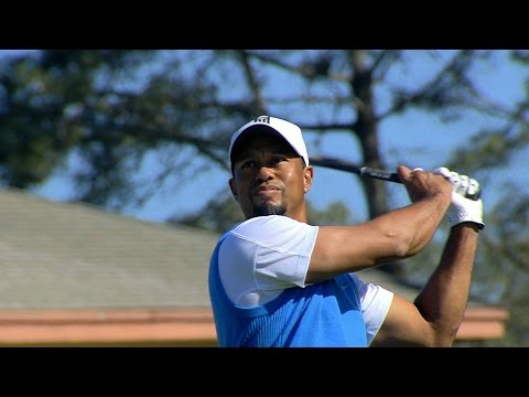 Every shot Tiger Woods hit in Round 1 at Farmers