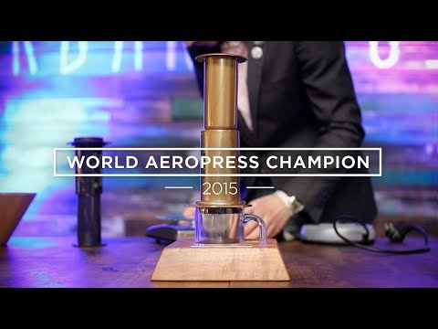 The Best Aeropress Method from the 2015 World Aeropress Championships