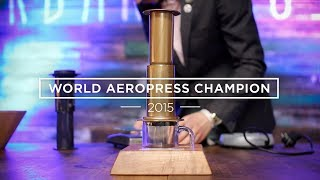 how to make aeropress coffee the winning recipe wac 2015