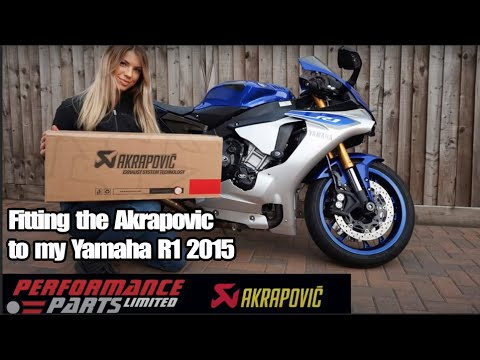 download Fitting the Akrapovic to my Yamaha R1 2015 - Decat - Fly by