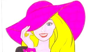 Раскраска для детей, учим цвета