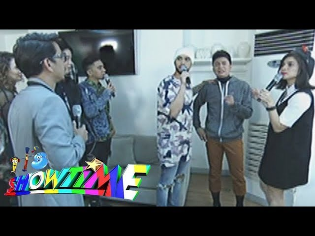 It's Showtime: Team Vhong in the dressing room
