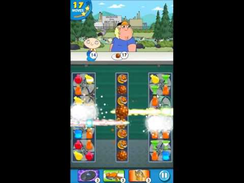 Family Guy Another Freakin Mobile Game Level 184 - NO BOOSTERS