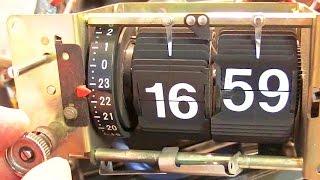 Překlápěcí hodiny (Pragotron) v radiobudíku - část 2