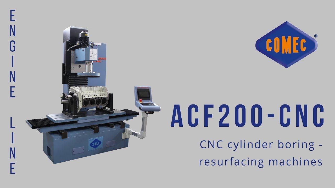 Comec ACF200 CNC boring machine - FTF