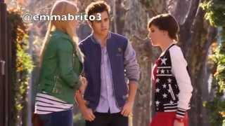 Violetta 3 - Gery le dice a Matilda que se aleje de León y él la escucha (03x48-49)