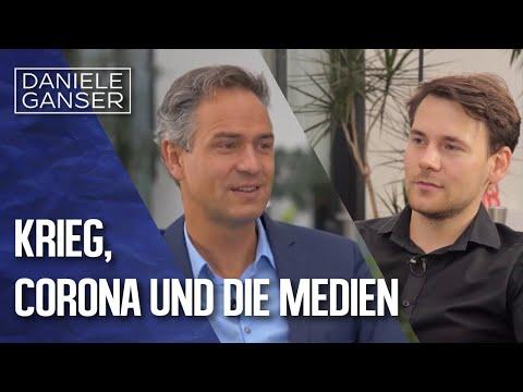 Dr. Daniele Ganser im Gespräch: Krieg, Corona und die Medien