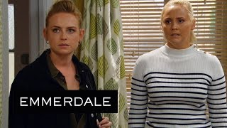 Emmerdale - Tracy Confronts Amy About Her Part in Frank's Death