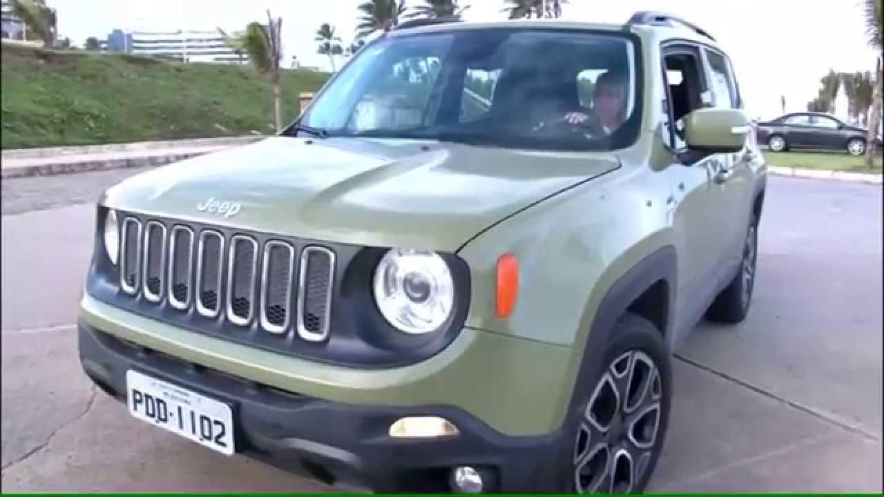 test drive jeep renegade longitude youtube. Black Bedroom Furniture Sets. Home Design Ideas
