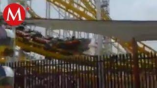 VIDEO: Accidente en juego mecánico de La Feria de Chapultepec