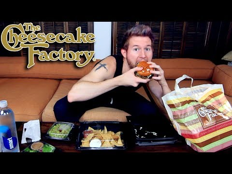 CHEESECAKE FACTORY MUKBANG (Eating Show) Watch Me Eat & Chat About Life