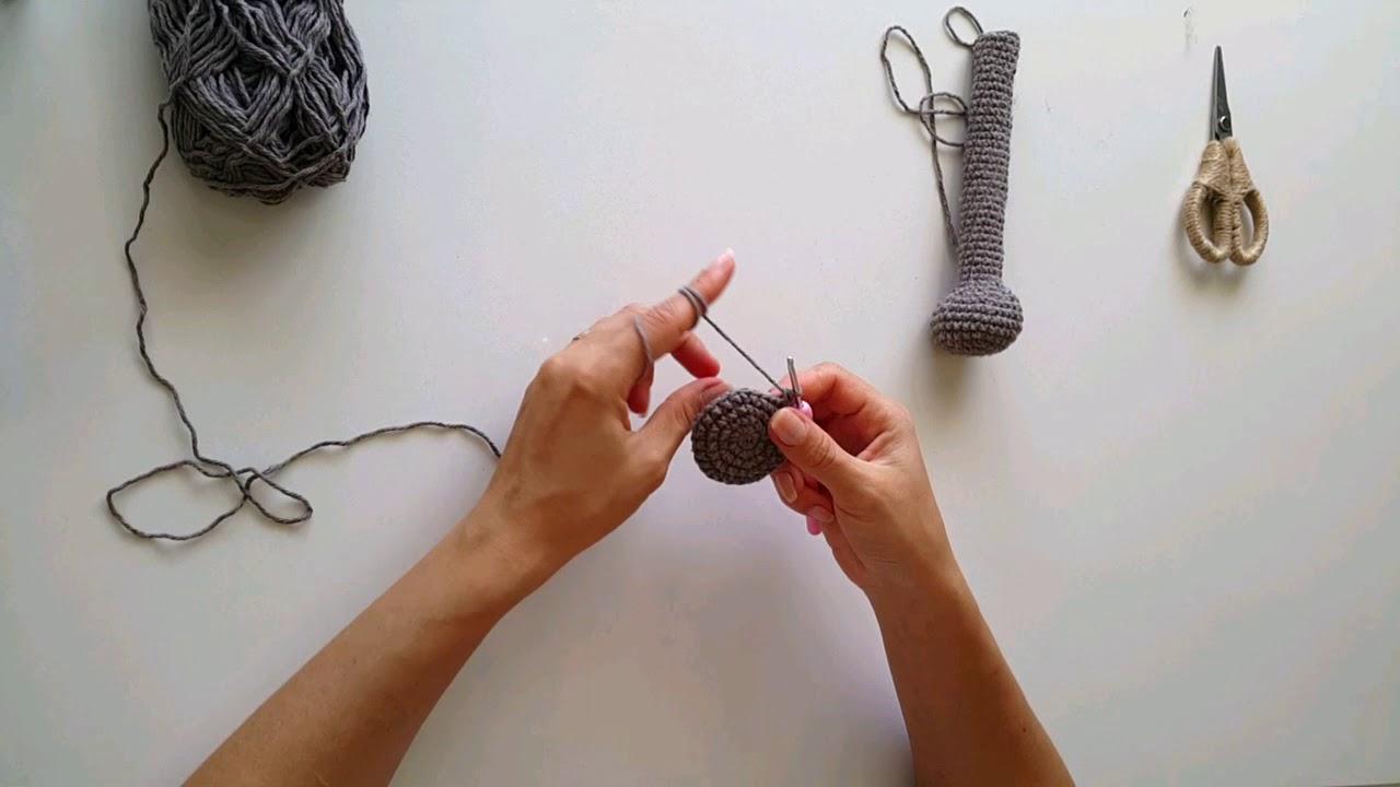 Örgü Oyuncak Hilal Bebek Tarifi, Amigurumi tarifler | 720x1280