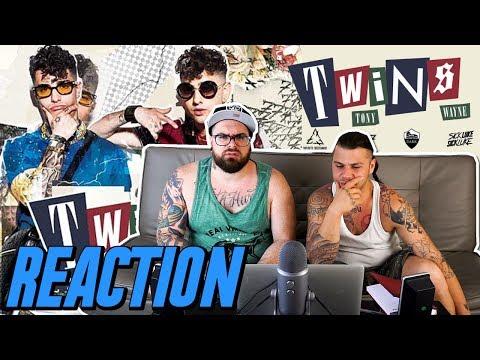 DARK POLO GANG - TWINS | RAP REACTION 2017 | ARCADEBOYZ ft MATTIA BIANCARDI