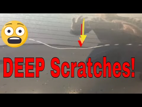 How To Repair Deep Scratches And Preserve The Clear Coat In The Process!!