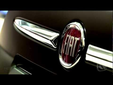 FIAT 500 Matte Black Wrap