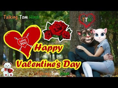 Talking Tom Hindi - Happy Valentine Day Funny Comedy - Talking Tom Funny Videos