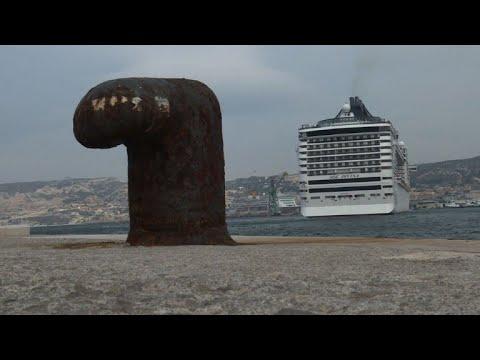 La délicate mission des pilotes du port de Marseille