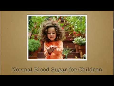 Normal Blood Sugar For Children